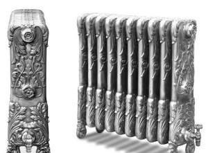 Как считается теплоотдача чугунного радиатора отопления?