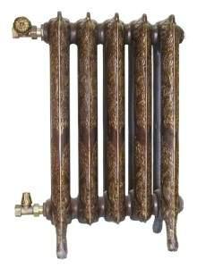 декорация радиатора из чугуна