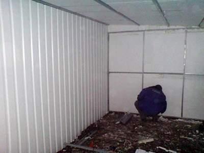 пенопласт - утеплитель для гаража