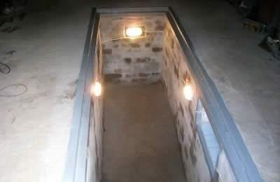 Освещение ямы в гараже своими руками