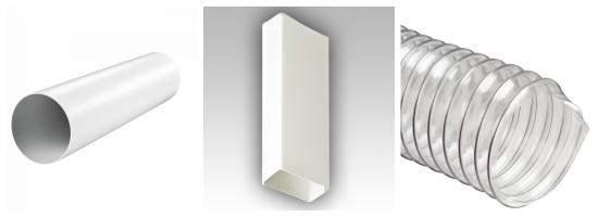 Формы конструктивных элементов системы вентиляции