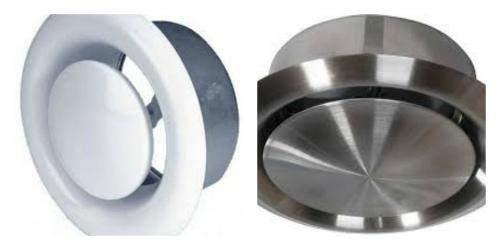 Используемые материалы для изготовления диффузоров