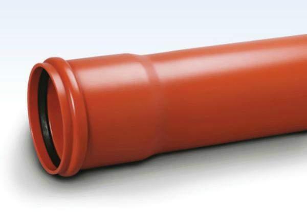 ПВХ - труба для ливневой канализации